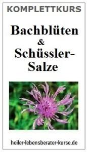 Bachblüten Schusslersalze